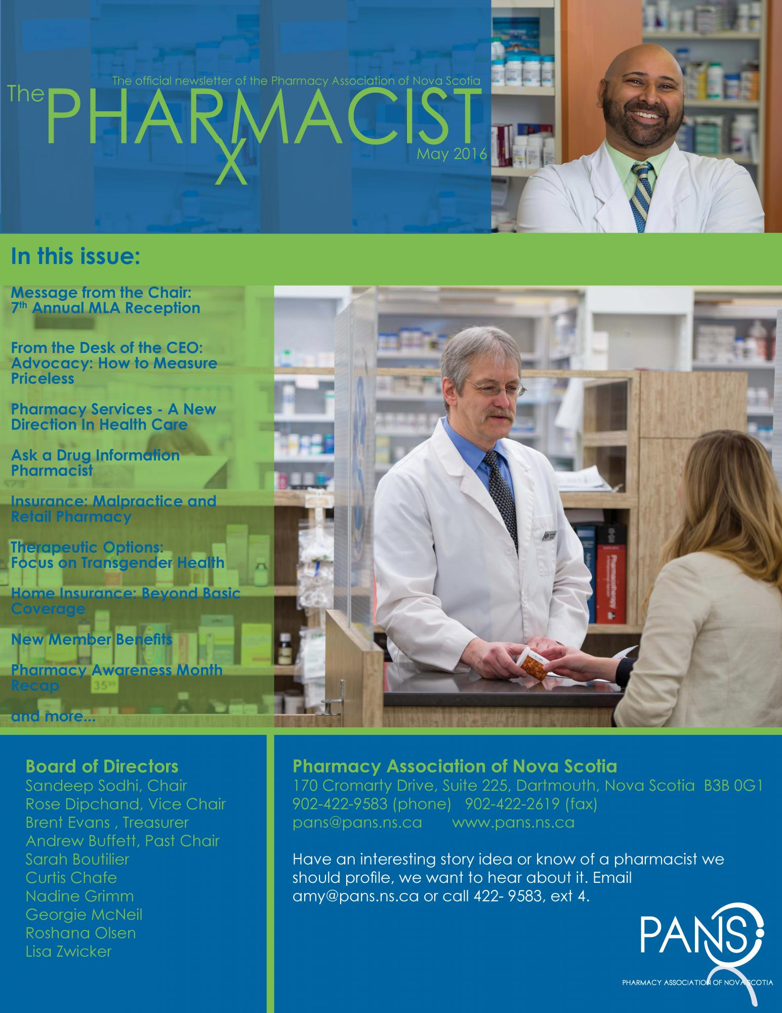 click on the picture above or here to download the full may 2016 edition of the pharmacist - Drug Information Pharmacist
